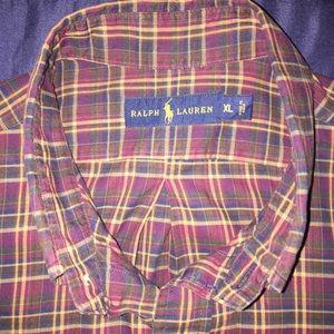 Polo by Ralph Lauren Shirts - Men's Polo Ralph Lauren Button Down Shirt